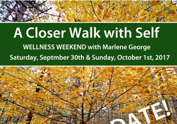 Fall Wellness Retreat – 2017