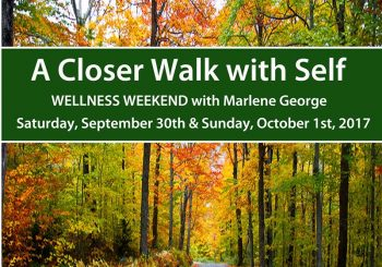 Fall Wellness Retreat – 2017